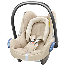 Buy Maxi-Cosi CabrioFix Group 0+ Baby Car Seat, Nomad Sand Online at johnlewis.com