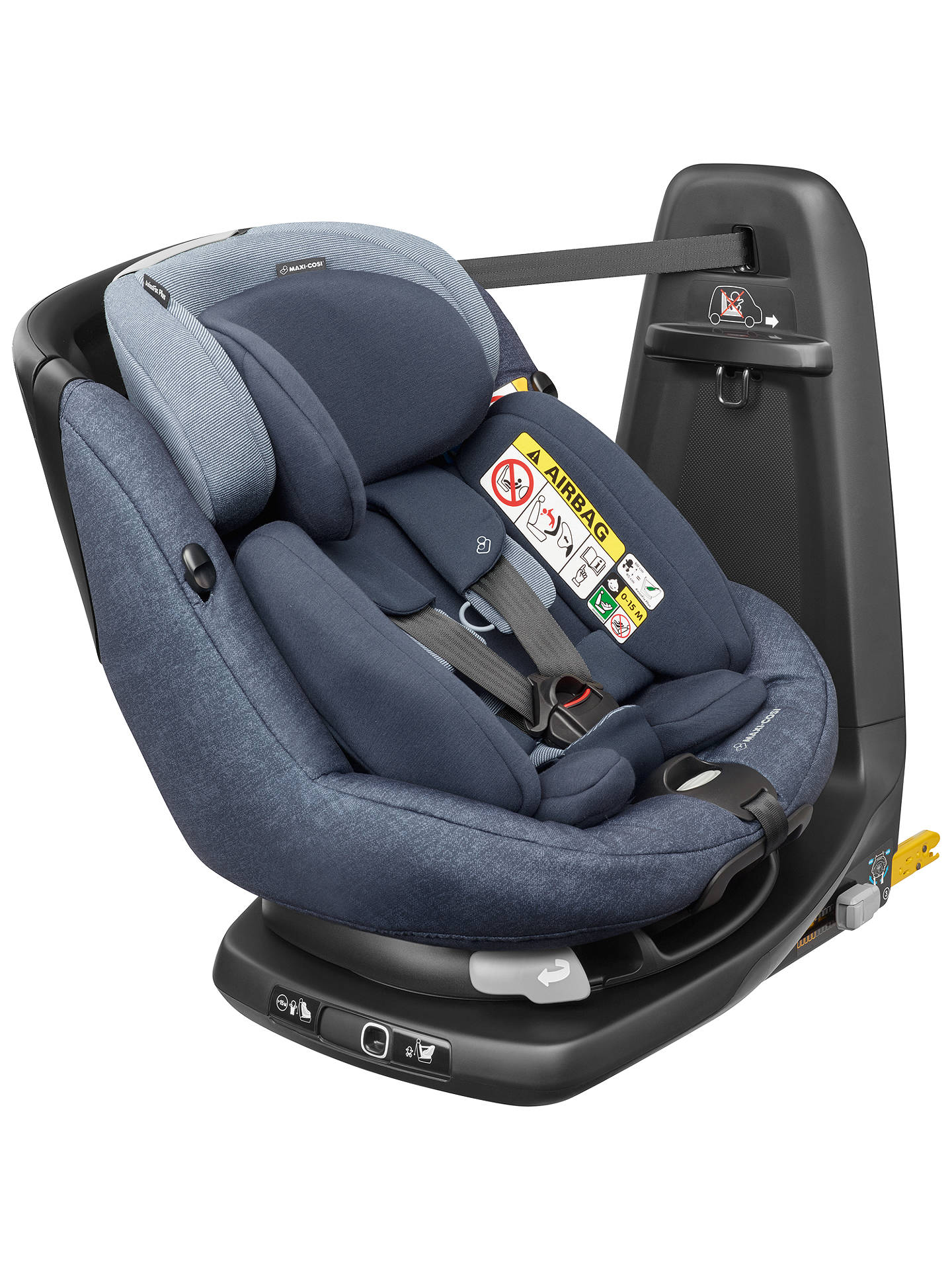 maxi cosi axissfix plus i size car seat nomad blue at. Black Bedroom Furniture Sets. Home Design Ideas
