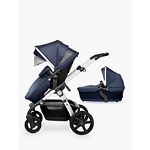 Buy Silver Cross Wave Pushchair and Carrycot, Midnight Online at johnlewis.com