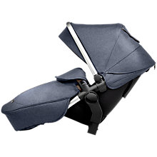 Buy Silver Cross Wave Tandem Seat Unit, Midnight Online at johnlewis.com