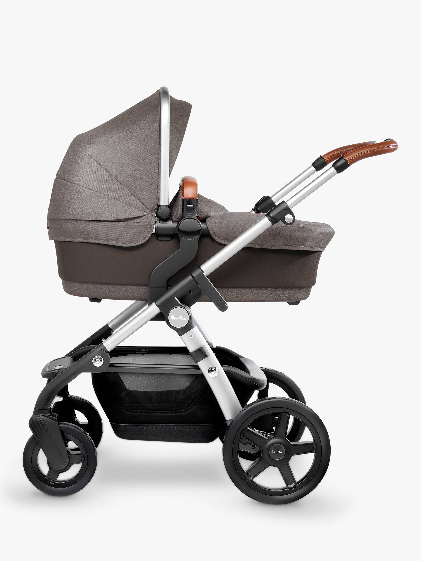 Buy Silver Cross Wave Pushchair and Carrycot, Sable Online at johnlewis.com