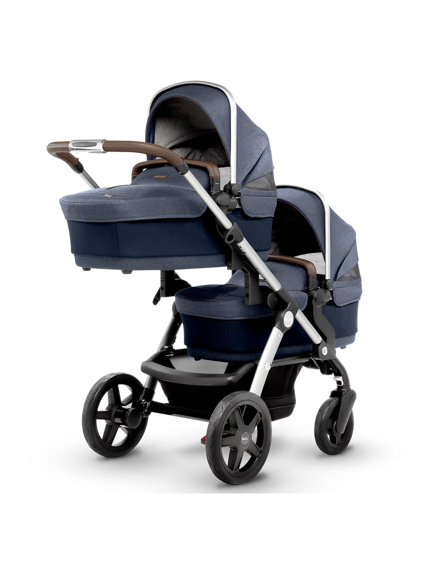 Buy Silver Cross Wave Carrycot, Midnight Online at johnlewis.com