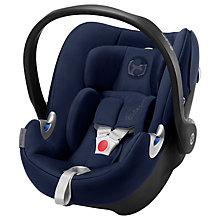 Buy Cybex Aton Q Group 0+ i-Size Baby Car Seat, Midnight Blue Online at johnlewis.com
