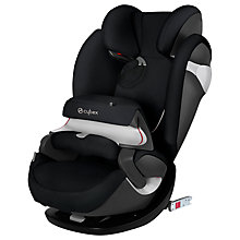Buy Cybex Pallas M-Fix Group 1 2 3 Car Seat, Stardust Black Online at johnlewis.com