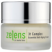 Buy Zelens 3t Complex Essential Anti-Aging Cream, 50ml Online at johnlewis.com
