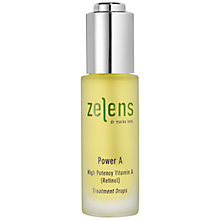 Buy Zelens Power A High Potency Vitamin A Treatment Drops, 30ml Online at johnlewis.com