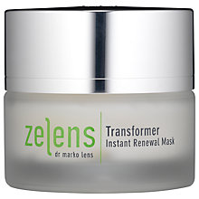 Buy Zelens Transformer Instant Renewal Mask, 50ml Online at johnlewis.com