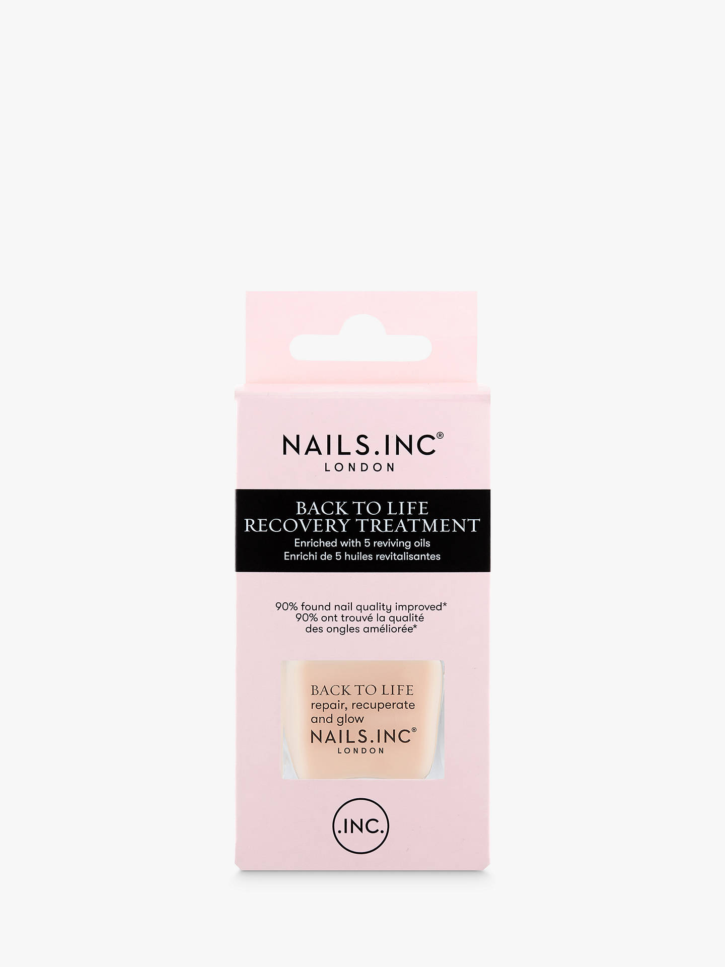 BuyNails Inc Back To Life Recovery Treatment & Base Coat, 14ml Online at johnlewis.com