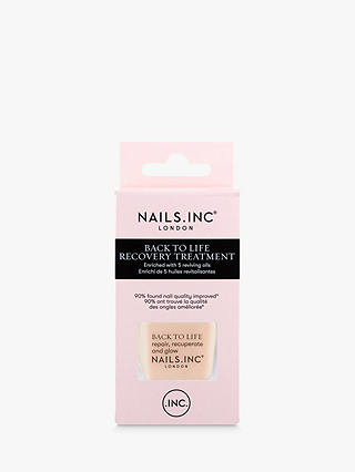 Buy Nails Inc Back To Life Recovery Treatment & Base Coat, 14ml Online at johnlewis.com