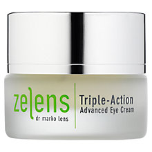Buy Zelens Triple-Action Advanced Eye Cream, 15ml Online at johnlewis.com