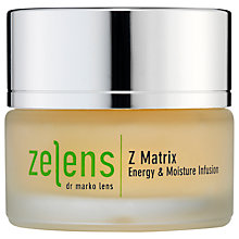 Buy Zelens Z Matrix Energy & Moisture Infusion, 50ml Online at johnlewis.com