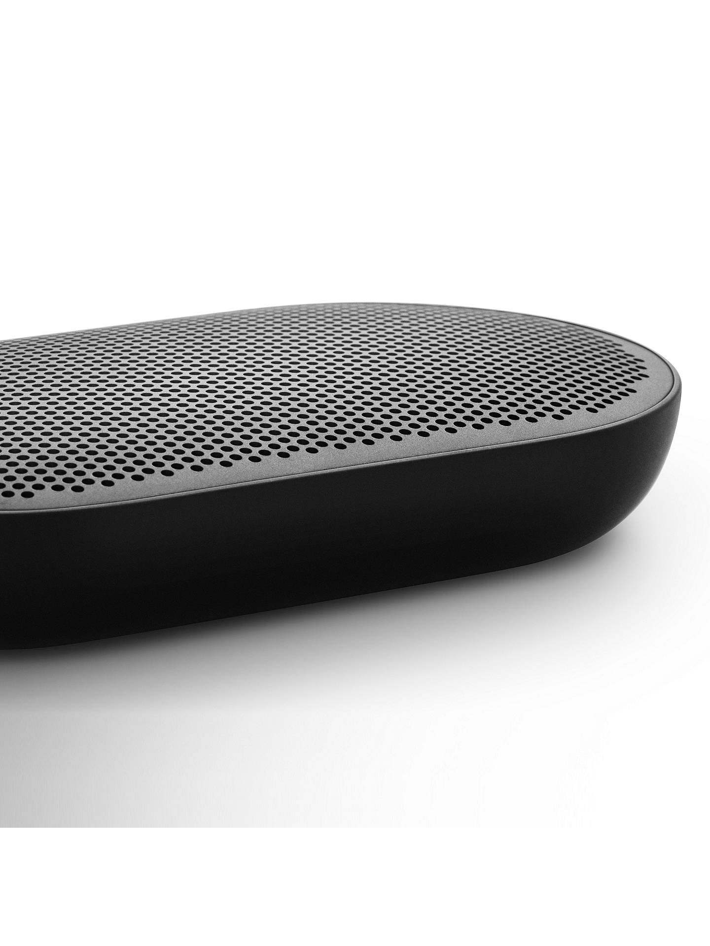 BuyB&O PLAY by Bang & Olufsen Beoplay P2 Portable Splash-Resistant Bluetooth Speaker, Black Online at johnlewis.com