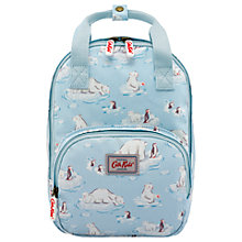 Buy Cath Kids Children's Small Polar Bear Medium Backpack, Blue Online at johnlewis.com