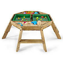Buy Plum Octagonal Activity Wooden Table Online at johnlewis.com