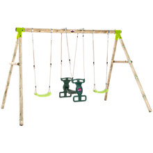 Buy Plum Vervet Wood Swing Set Online at johnlewis.com