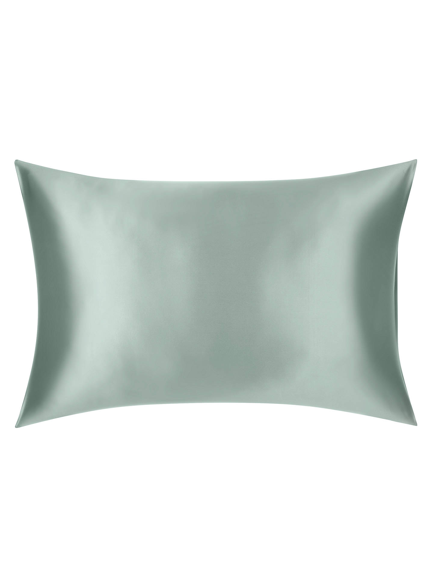 BuyJohn Lewis & Partners The Ultimate Collection Silk Standard Pillowcase, Mint Online at johnlewis.com