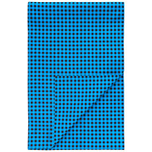 Buy Thomas Pink Cotton Overcheck Scarf, Teal/Blue Online at johnlewis.com