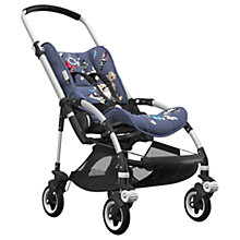 Buy Bugaboo Bee5 Complete Pushchair, Aluminium with Black Handles and Botanic Fabric Online at johnlewis.com