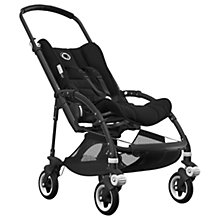 Buy Bugaboo Bee5 Complete Pushchair, Black with Black Handles and Black Fabric Online at johnlewis.com