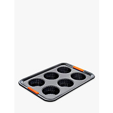 Buy Le Creuset 6 Cup Tart Tray Online at johnlewis.com