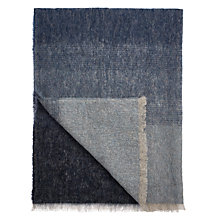 Buy Croft Collection Mohair Blend Throw Online at johnlewis.com