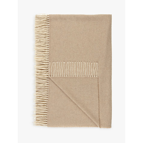 Buy Croft Collection 100% Cashmere Throw Online at johnlewis.com