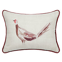 Buy John Lewis Highland Myths Pheasant Cushion, Multi Online at johnlewis.com