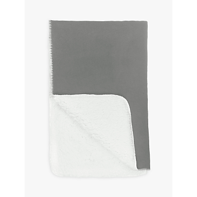 House by John Lewis Sherpa Throw