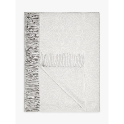John Lewis Paisley Weave Throw