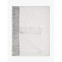 Buy John Lewis Paisley Weave Throw Online at johnlewis.com