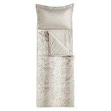 Buy John Lewis Faux Fur Sleeping Bag Online at johnlewis.com