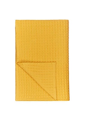 Buy House by John Lewis Jersey Bedspread, Mustard Online at johnlewis.com