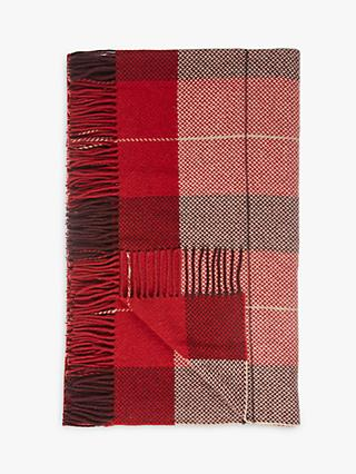 John Lewis & Partners Highland Check Throw