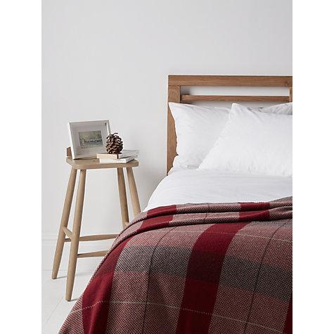buy john lewis highland check throw john lewis. Black Bedroom Furniture Sets. Home Design Ideas