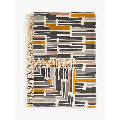 John Lewis Ingrid Geometric Print Throw