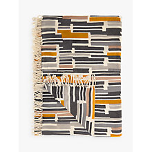 Buy John Lewis Ingrid Geometric Print Throw Online at johnlewis.com
