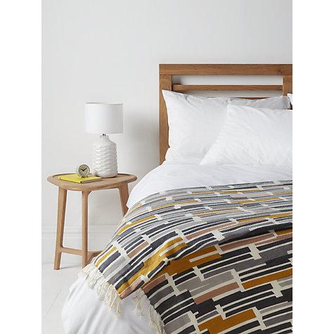 buy john lewis ingrid geometric print throw john lewis. Black Bedroom Furniture Sets. Home Design Ideas