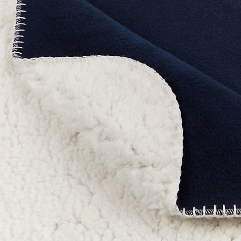 Buy House by John Lewis Sherpa Throw Online at johnlewis.com