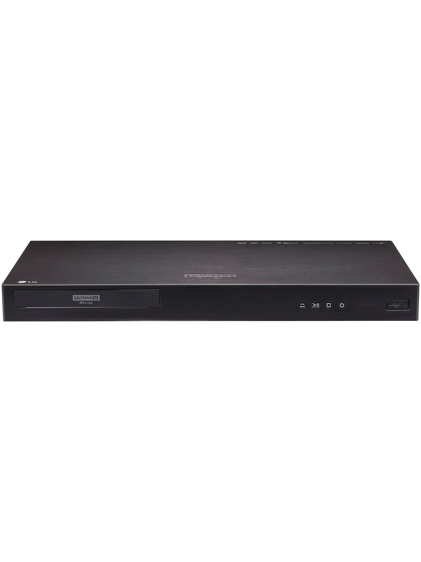 Lg Up970 Smart 3d 4k Uhd Hdr Blu Raydvd Player At John Lewis Partners