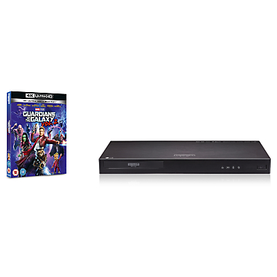 LG UP970 Smart 3D 4K UHD HDR Blu-Ray/DVD Player