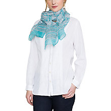 Buy East Jaya Printkotadoria Scarf, Capri Online at johnlewis.com