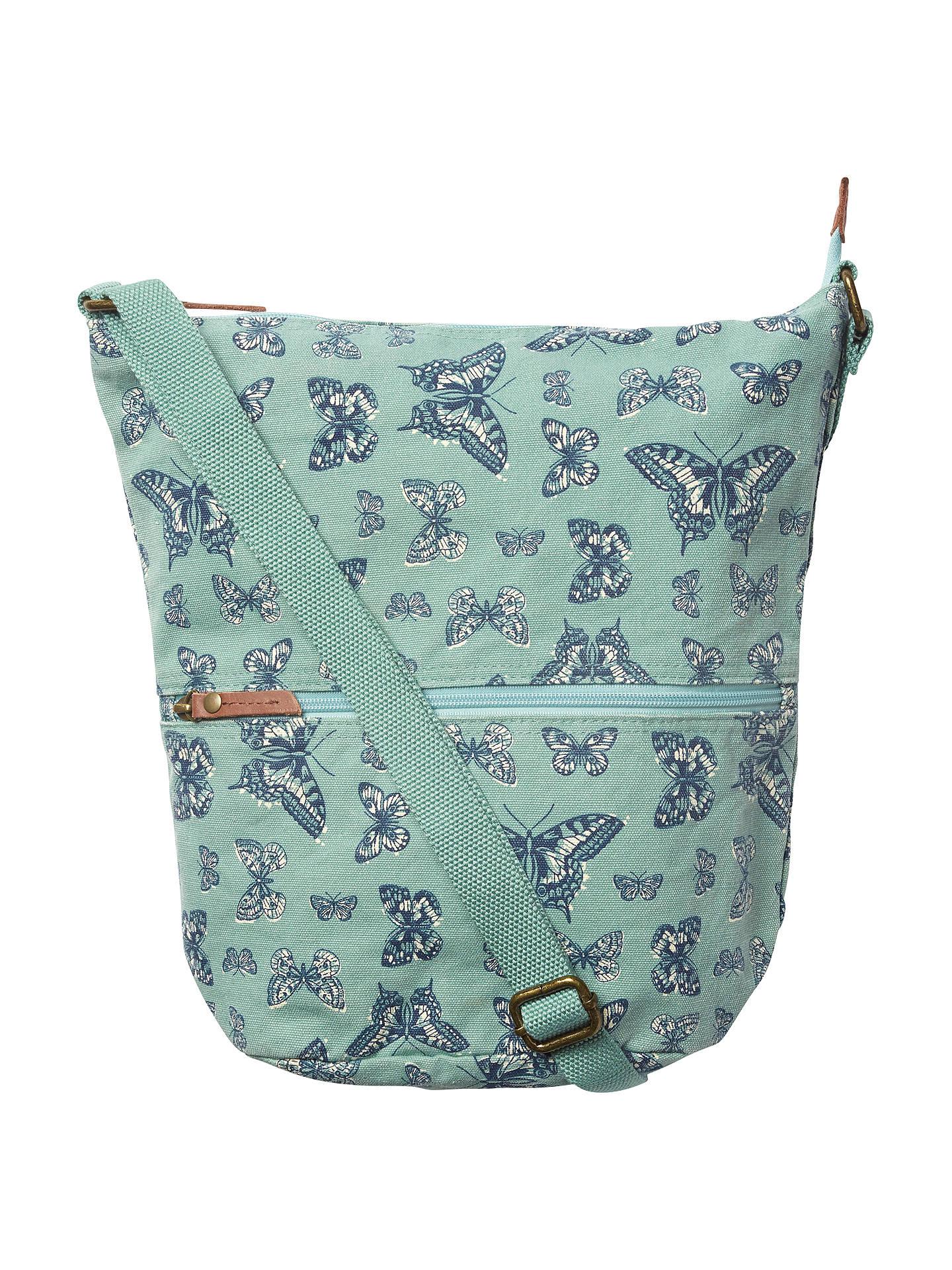 643a81d7b8f7 Buy Fat Face Mini Butterfly Canvas Cross Body Bag, Green Online at  johnlewis.com ...