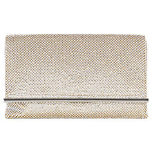 Buy Coast Blair Sparkle Clutch Bag, Champagne Online at johnlewis.com