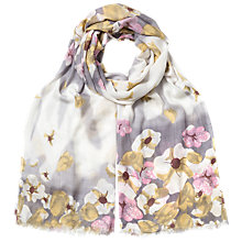 Buy East Blossom Flower Print Scarf, Multi Online at johnlewis.com