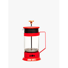 Buy LEON Cafetiere, Red, 1L Online at johnlewis.com