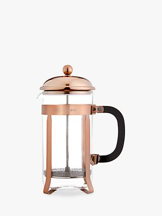 Croft Collection 8 Cup Cafetiere, Copper, 1L
