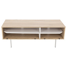 "Buy John Lewis Scandi II TV Stand For TVs Up to 60"", White Oak Online at johnlewis.com"