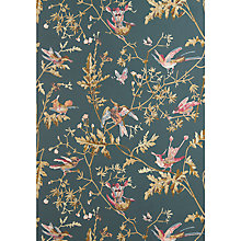 Buy Cole & Son Hummingbirds Wallpaper Viridian / Magenta / Khaki JL1/10014072 Online at johnlewis.com