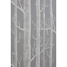 Buy Cole & Sons Woods Wallpaper, Steel Grey Online at johnlewis.com