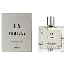 Buy Miller Harris Perfumer's Library Le Feuille Eau de Parfum, 100ml Online at johnlewis.com